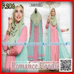 baju maxi dress remaja muslim Romance hoodie