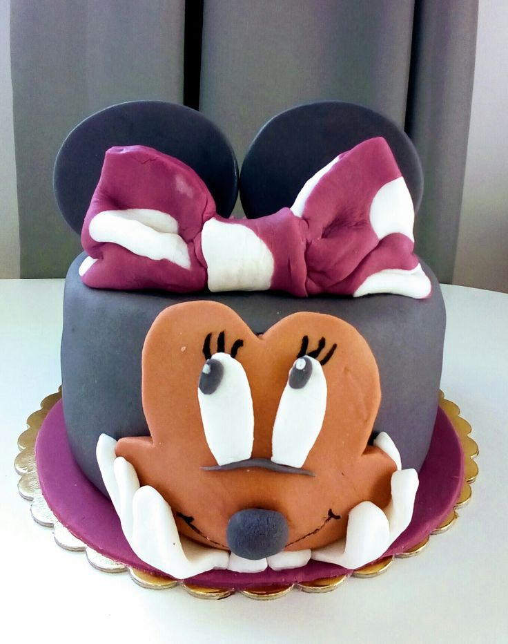 Tort myszka Minnie mouse cake