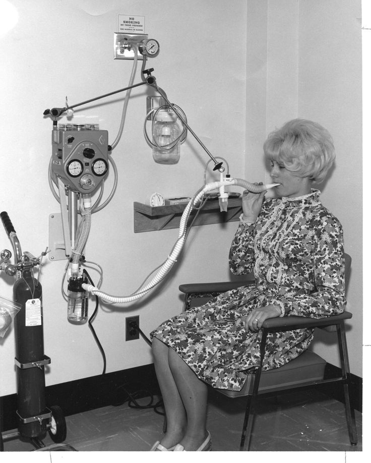 Respiratory Care (1958). I actually did this in the