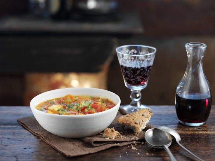 Warming Chunky Vegetable Soup Recipe - In The Playroom