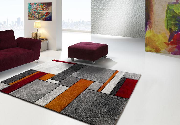 La alfombra del día: MALMO 21821G Alfombras de diseño moderno tejidas a máquina en Turquía con fibras sintéticas de calidad y una estética impresionante. Elegantes, polivalentes, las Malmo son unas alfombras con una relación calidad-precio inmejorable. Para ver más visita Alfombras Nelo en Crevillent, o nuestra tienda on-line: alfombrasnelo.com.