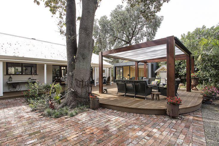 Landscape design blends the old and new