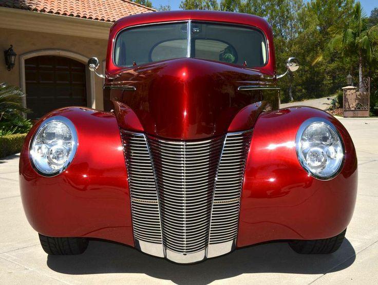 21 Best 1940 Ford Images On Pinterest Bespoke Cars Car
