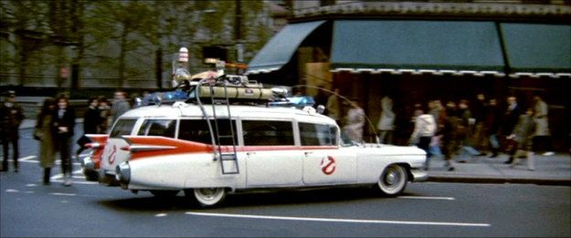 Ecto-1 Ghostbusters | 32 Most Iconic Cars From Movies And TV