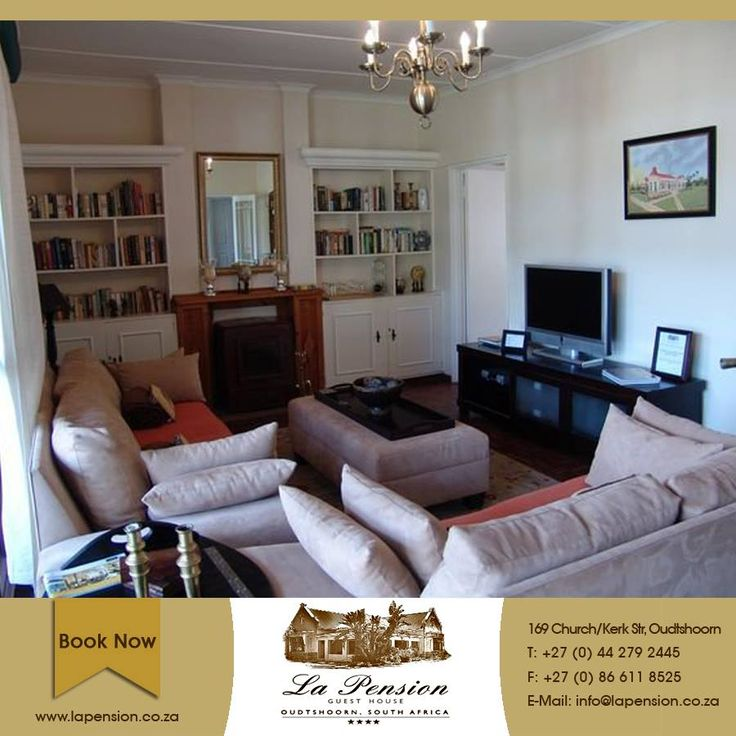 "At La Pension we believe ""Mi Casa Es Su Casa"" (Formal sentence meaning literally ""my house is your house"", a greeting to guests similar to ""make yourself at home"".) Whilst spending time here, we want our guests to feel at home in every way #accommodation #hospitality #karoo"