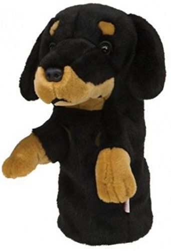 Daphnes High Quality Golf Headcovers 460cc Dachshund *** Want to know more, click on the image.