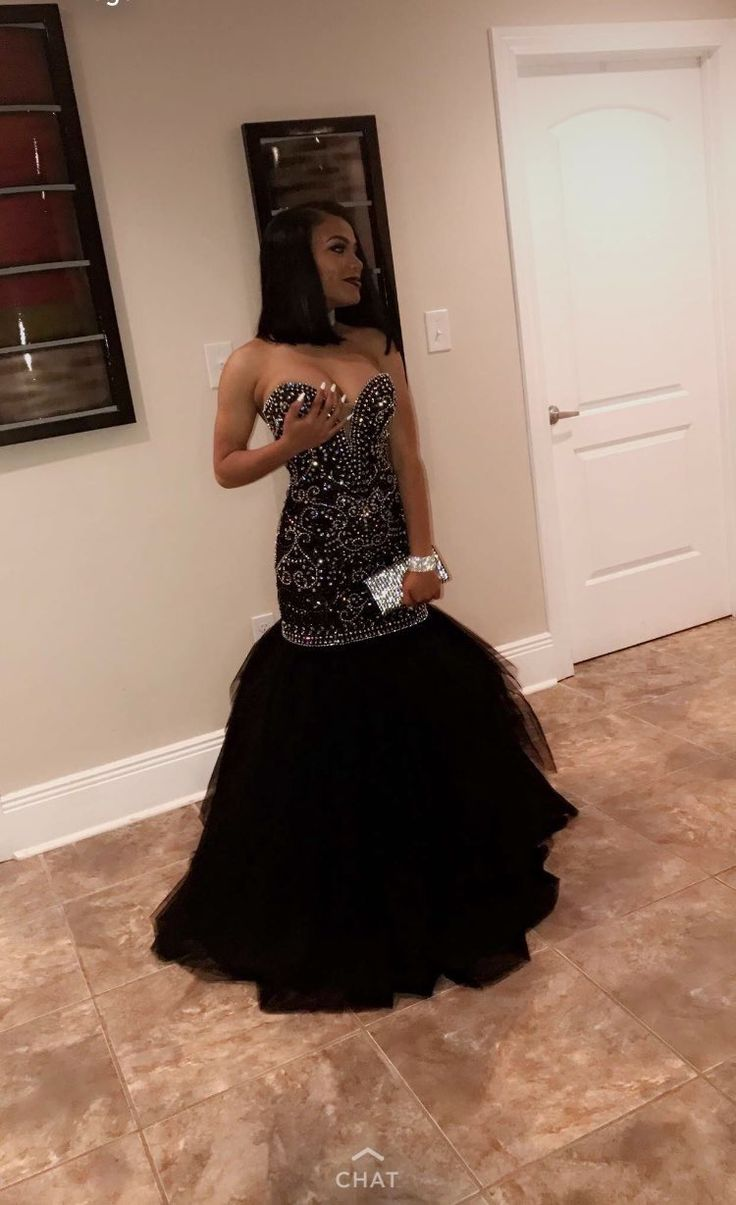 Black dress goals - Find This Pin And More On Prom Goals