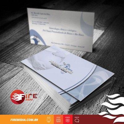 Cartão de Visita - Dr. Marcello Lopes da Silva Ginecologia Obstetrícia - FIRE MÍDIA  http://firemidia.com.br/portfolios/cartao-de-visita-mariel-logistica-fire-midia/