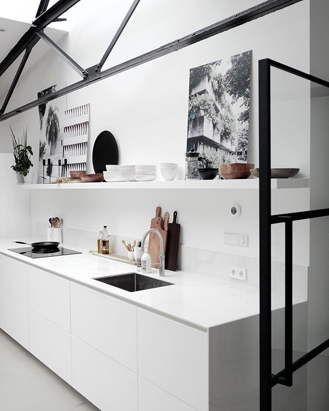 White Kitchen – design Rafa-interiors #kitchen #ki…