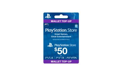 Playstation Store Gift Card. Buy one now!