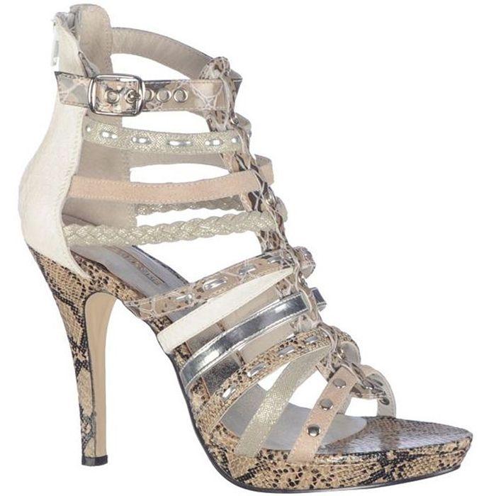 Sandale cu toc inalt,de dama marca Mojito Fete: textil Interior: piele naturala Toc: 11,5 cm