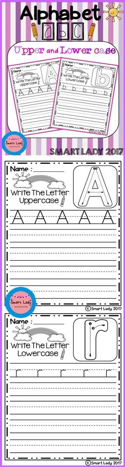 Inside you will find 52 pages of Upper and Lower Case Alphabet. This is great for alphabetic fluency. Track letters from A-Z Upper and Lower case.  I really appreciate your feedback.