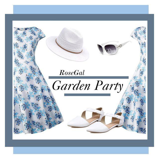 RoseGal Garden Party by monique-joanne on Polyvore featuring polyvore, fashion, style and clothing