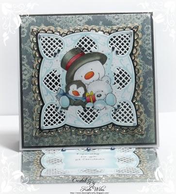 Snowman Hugs by Wild Rose Studio'sCrafty Stuff, Christmas Cards, Snowman Hug, Scrapbook Secret, Rose Studios, Paper Moon, Wild Rose, Studios Stamps, Snowman Cards
