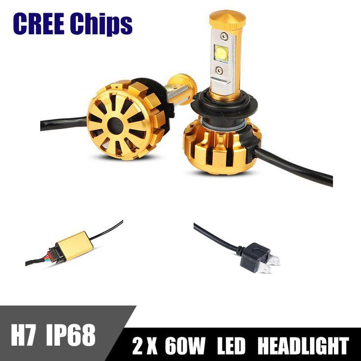 $45.89 (Buy here: https://alitems.com/g/1e8d114494ebda23ff8b16525dc3e8/?i=5&ulp=https%3A%2F%2Fwww.aliexpress.com%2Fitem%2F2x-CREE-Chips-H7-LED-Headlight-Bulbs-60W-6000LM-6000K-White-All-In-One-Car-Headlights%2F32674053300.html ) 2x CREE Chips H7 LED Headlight Bulbs 60W 6000LM 6000K White All In One Car Headlights DRL Driving Fog Light Lamp IP68 Turbo Fan for just $45.89