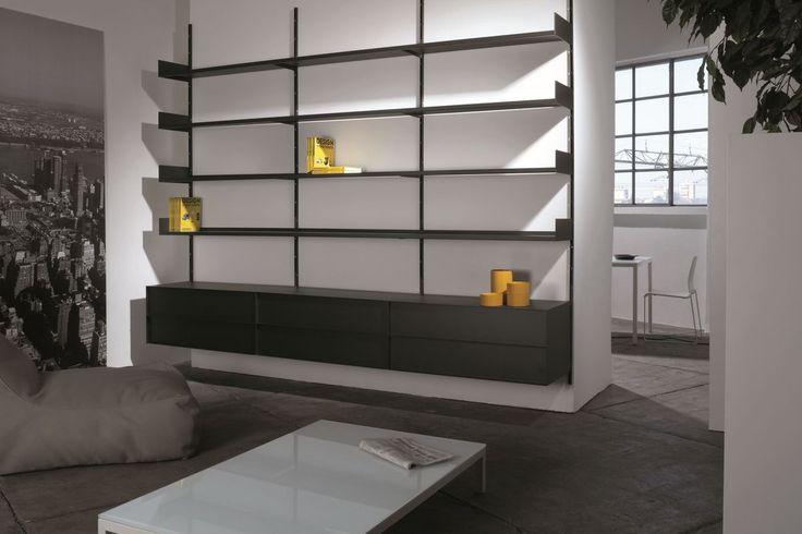 Oltre 25 fantastiche idee su libreria a muro su pinterest for Libreria a muro ikea