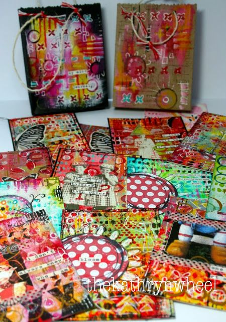 The Kathryn Wheel: Mini Art Journaling.