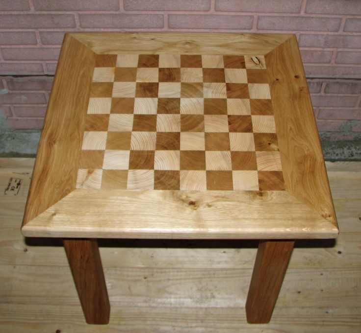 Bijzet tafeltje schaakbord