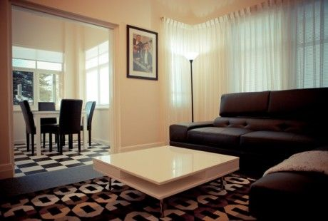 """The """"Elysian"""" luxury park view apartment - lounge/dining. #holiday #glenelg #apartment #luxury #loungeroom #vacation #travel"""