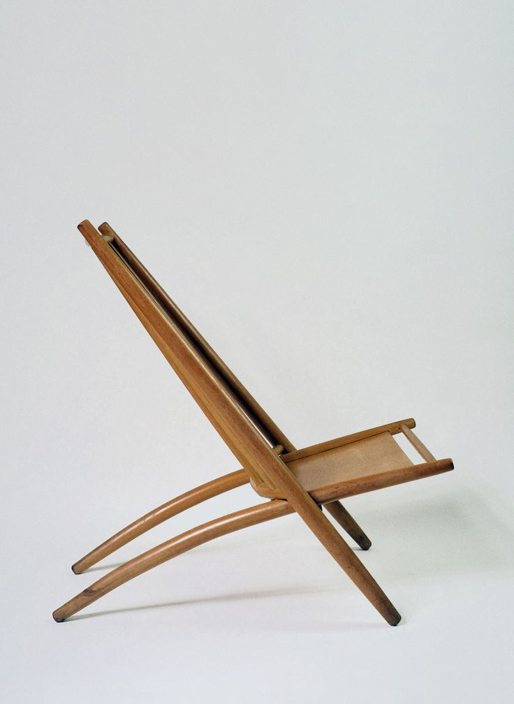 © Alf Svensson. Congo Chair, Beech. for Bra Bohag / Haga Fors. Sweden. 1950S. sold by Pamono