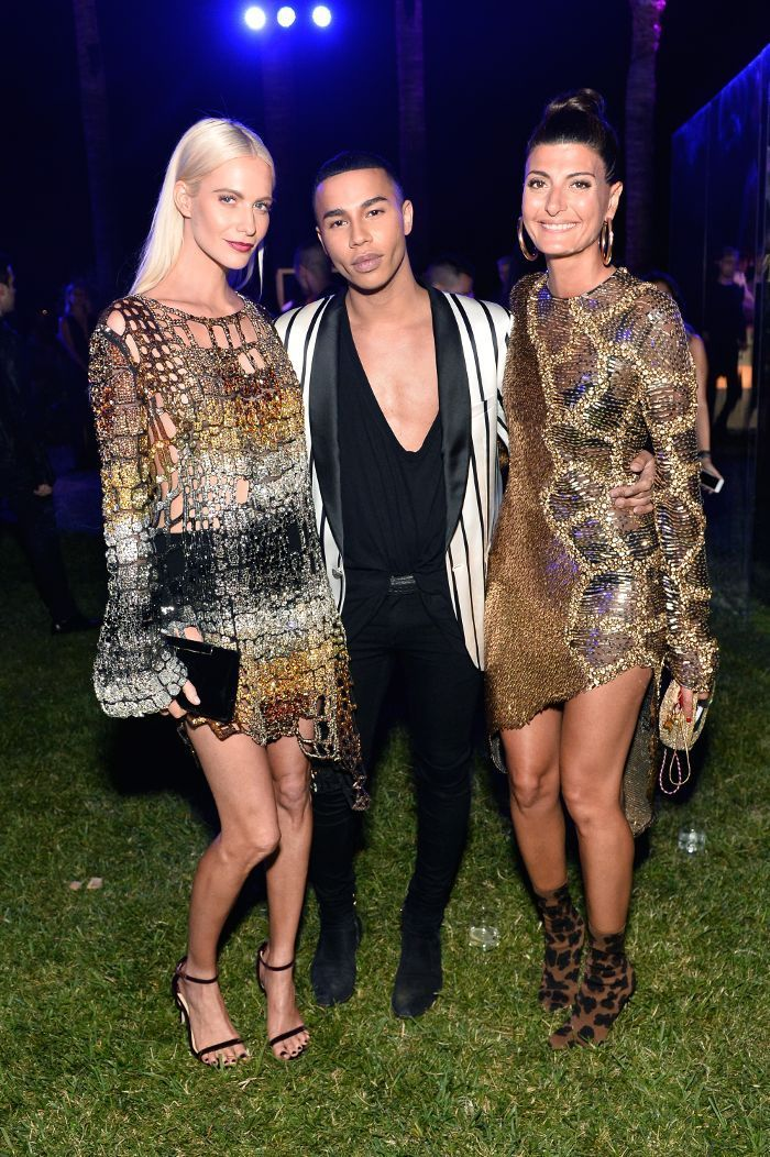 We interviewed Balmain's Olivier Rousteing, who shared his thoughts on French versus L.A. style, and more.