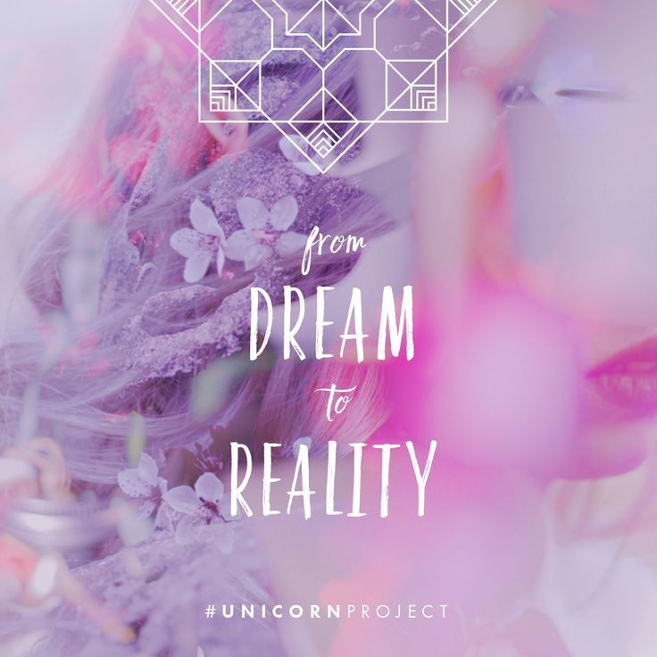 From dream to reality - Find out more at www.thedarlingtree.com/unicornproject