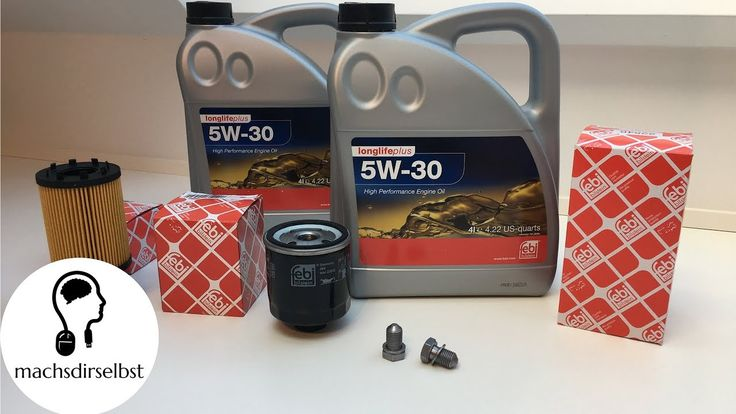 [VW/AUDI/SEAT/SKODA] Öl + Ölfilter wechseln Tutorial (HD)