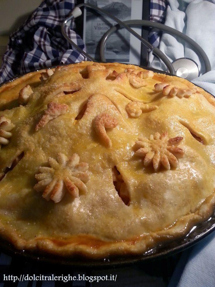 Dolci tra le righe: La Strada Per Virgin River con Apple Pie (la ricetta originale americana) http://dolcitralerighe.blogspot.it/2014/03/la-strada-per-virgin-river-con-apple-pie.html