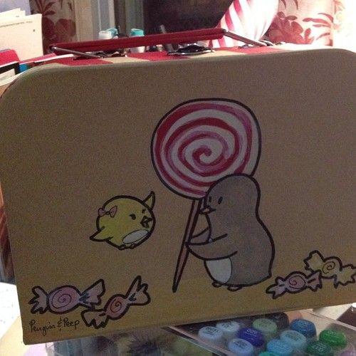 Penguin & Peep box