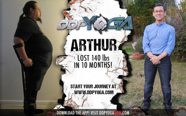 INCREDIBLE Arthur! Own your life! Start YOUR DDP YOGA today! #Health #Fitness #DDPY #ChangingLives