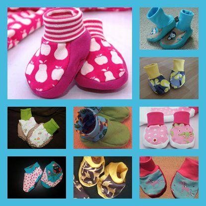 Wollt ihr eure eigenen kleinen Jersey-Füßlinge nähen? Hier geht es zum Freebook: http://amliebstensorgenfrei.com/anleitungen-und-ideen/freebook-tippy-toes-babyschuhchen/
