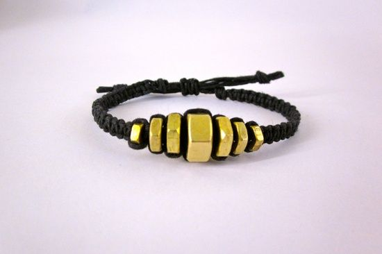 hex nut jewelry | graduated hex nut bracelet graduated hex nut bracelet by devonvivian ...