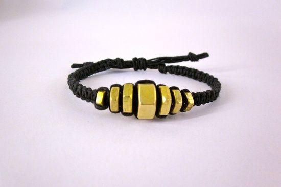 hex nut jewelry | graduated hex nut bracelet graduated hex nut bracelet by devonvivian ...