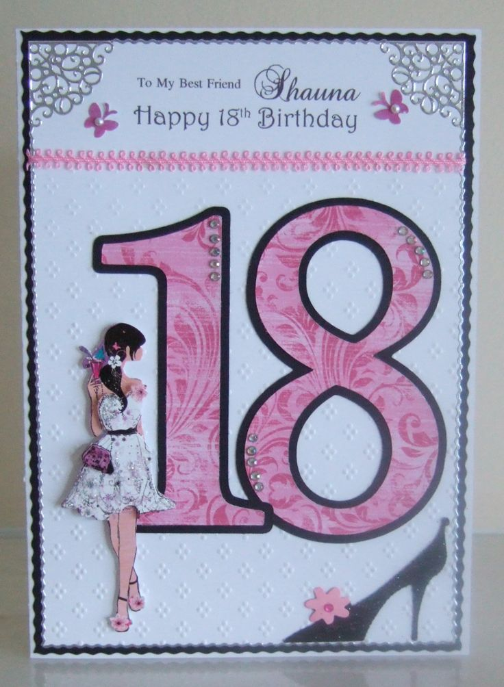 18th Birthday | Age Celebration Cards | Pinterest