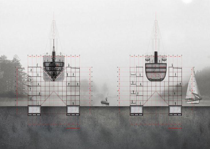 Galería de Museo de la construcción naval, gran ganador del Concurso Nacional de Proyectos de Título 2016 - 21
