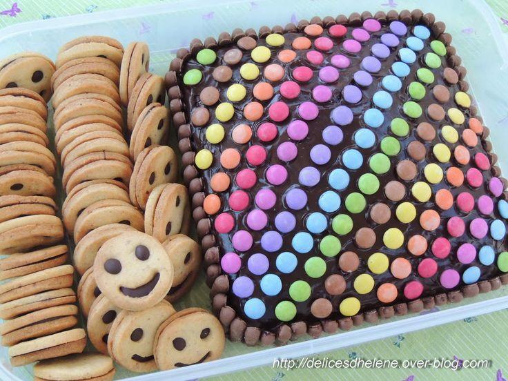 Accompagné de Petits Lu maison au chocolat et à la noisette, et hop! direction l'école!