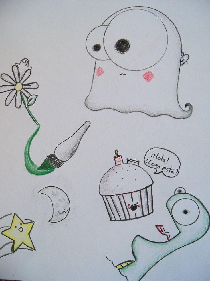 38 best doodles images on pinterest mandalas zentangle for Random cute drawings