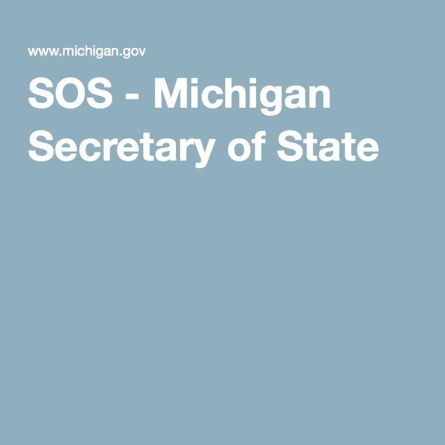 SOS - Michigan Secretary of State