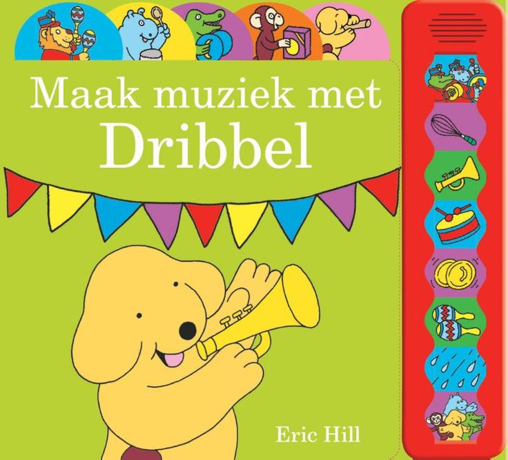 Een vrolijk geluidenboek van Dribbel. Iedere peuter beleeft volop plezier met Dribbel en zijn vrienden door eenvoudigweg de geluidsknoppen in te drukken en mee te doen aan de muzikale optocht.