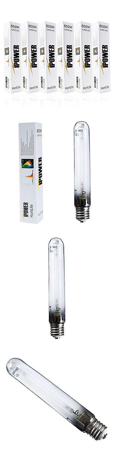 Grow Light Bulbs 178988: Ipower 6-Pack 600 Watt High Pressure Sodium Super Hps Grow Light Lamp Bulb New -> BUY IT NOW ONLY: $129.19 on eBay!