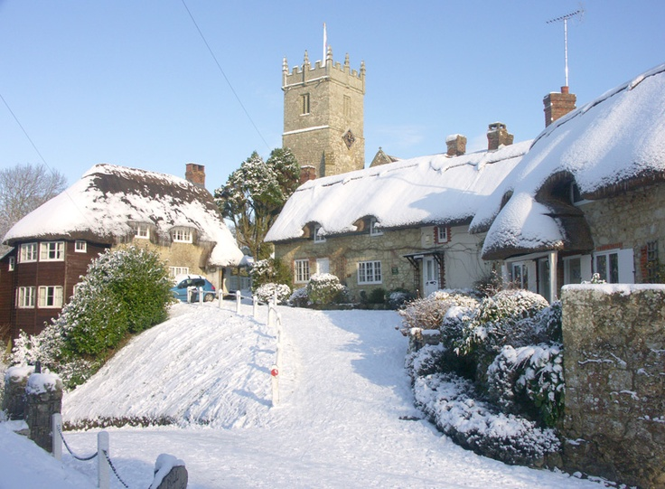 Godshill * Snow * Isle of Wight