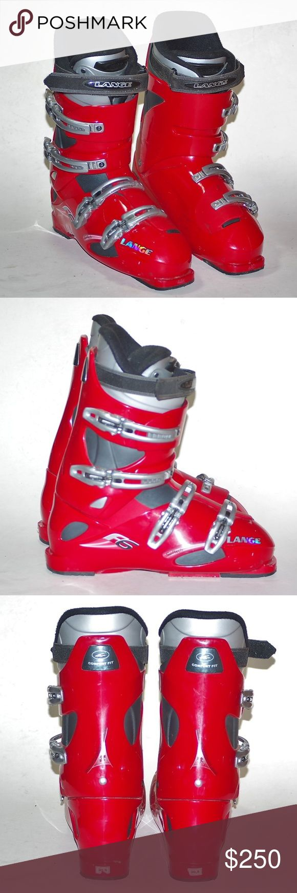 LANGE Frame6 Softech Ski Boots Size 30.5 SALE EUC LANGE Frame6 Softech Ski Boots Size 30.5 SALE EUC LANGE FRAME 6 F6 Ski Boots Size 30.5( According to PeterGlenn's website this converts to USA Mens 12.5 (do some research for fit) Last photo shows online review Used 2 times I have additional photos if needed! What a great Christmas gift at a fraction of retail! Save some bucks for more ski trips! Would look great with your Dale of Norway Ski sweater! LANGE F6 Softech Ski Boots Shoes Rain…