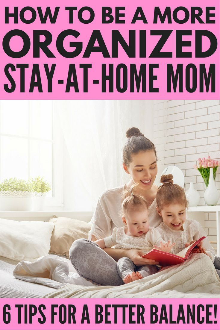 Are you ready to learn how to be an organized stay at home mom so you can stop feeling like you're constantly drowning in a sea of laundry, dirty toilets, uncooked meals, and cranky kids and finally figure out how to live a balanced, productive, and organ