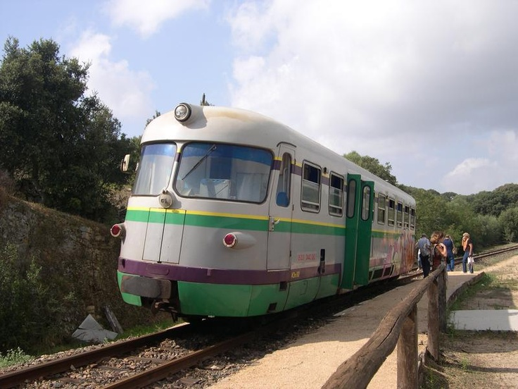 Green train..discover uncovred Sardinia. But be patient!