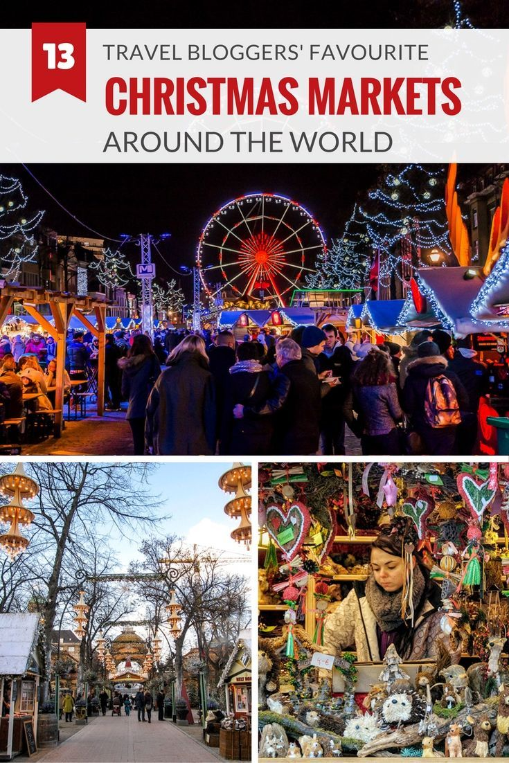We share travel bloggers top 13 Christmas Markets around the world from Canada to Europe, South Africa to the Philippines.