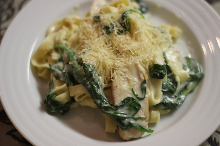 Grilled Chicken Florentine Pasta ~ This is great! Serve with Grilled ...