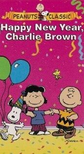 "Happy New Year, Charlie Brown: ""Charlie Brown is obliged to attend Peppermint Patty's New Year's Eve party, even though he has to finish the novel, ""War and Peace""."""