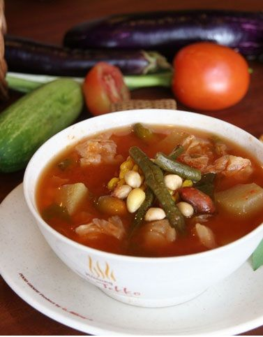 Indonesian Food. Sayur Asam ( sour soup)  my fav!