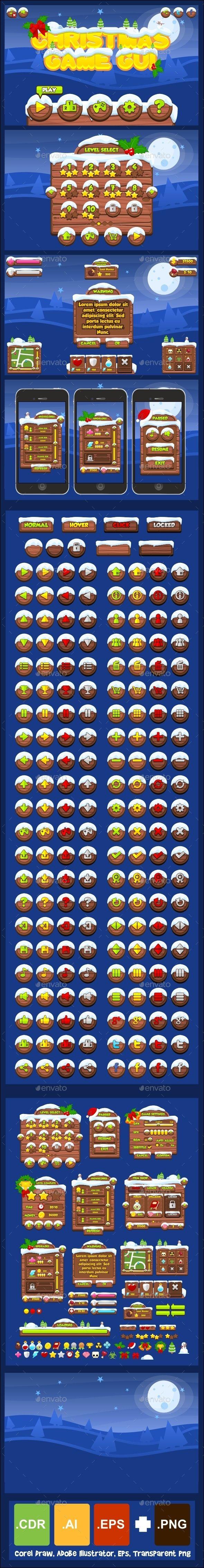 Christmas Game GUI -...