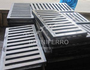 grill gutter cast iron